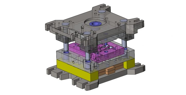 Press-form and tooling production