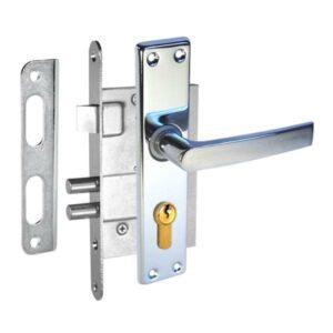 durvju slēdzene ZV4 hromēta