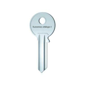 Atslēgu sagatave cilindra slēdzenei